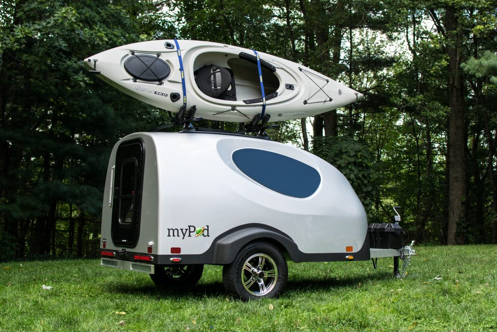 Little Guy Trailers Makes What They Claim Is The Smallest Molded Fiberglass More Like A Teardrop MyPod Small 630lb Camper That